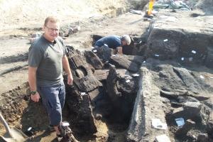 Toiletter fra middelalderen udgravet midt i Odense
