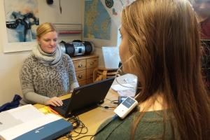 Skoleelevers hørelse testes_