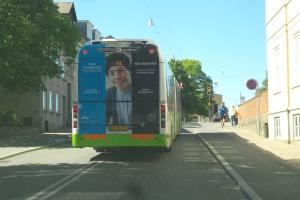 Reklame for Århus Universitet i Odense(1)