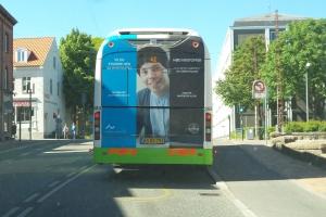 Reklame for Århus Universitet i Odense(2)