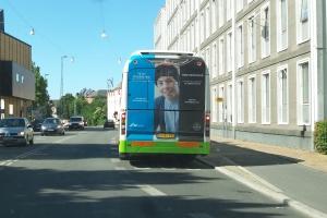 Reklame for Århus Universitet i Odense(3)