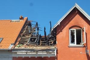 Kvinde død i brand i Ørbæk
