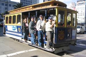 Sporvogn i SanFrancisco i Californien