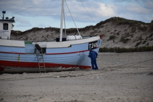Kystfiskeri fra Nørre Vorupør