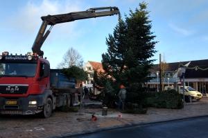 Hærværk mod juletræ i Ringe