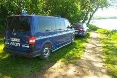 Politi ved Svendborgsund
