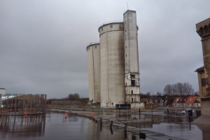 Fejlslagen sprængning af siloen i Assens(1)