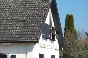 Brand i Black Armys klubhus på Nyborgvej