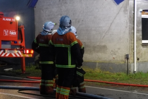 Brand i tom industribygning Ore