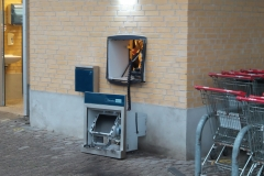 Pengeautomat i Tommerup sprængt i luften(1)