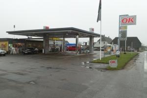 Røveri mod tankstation