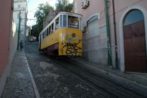 Sporvogn i Lissabon