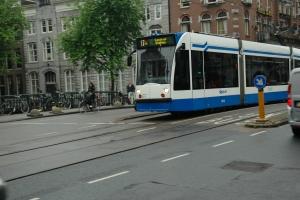 Sporvogn i Amsterdam