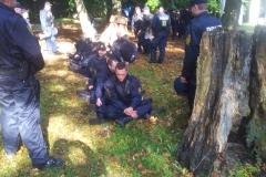 Fyns Politi øver sig