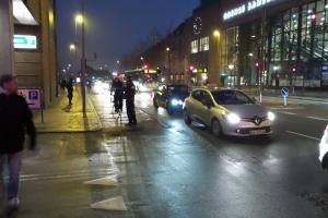 Politi tjekker cyklister