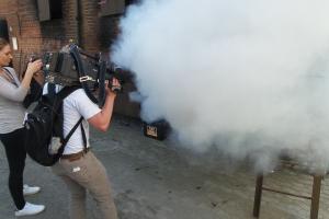 Demonstration af slukningsgranat(8)