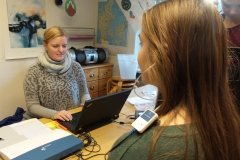 Skoleelevers hørelse testes_(1)