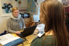 Skoleelevers hørelse testes_(2)