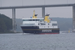 Ærøfærgen i Svendborgsund