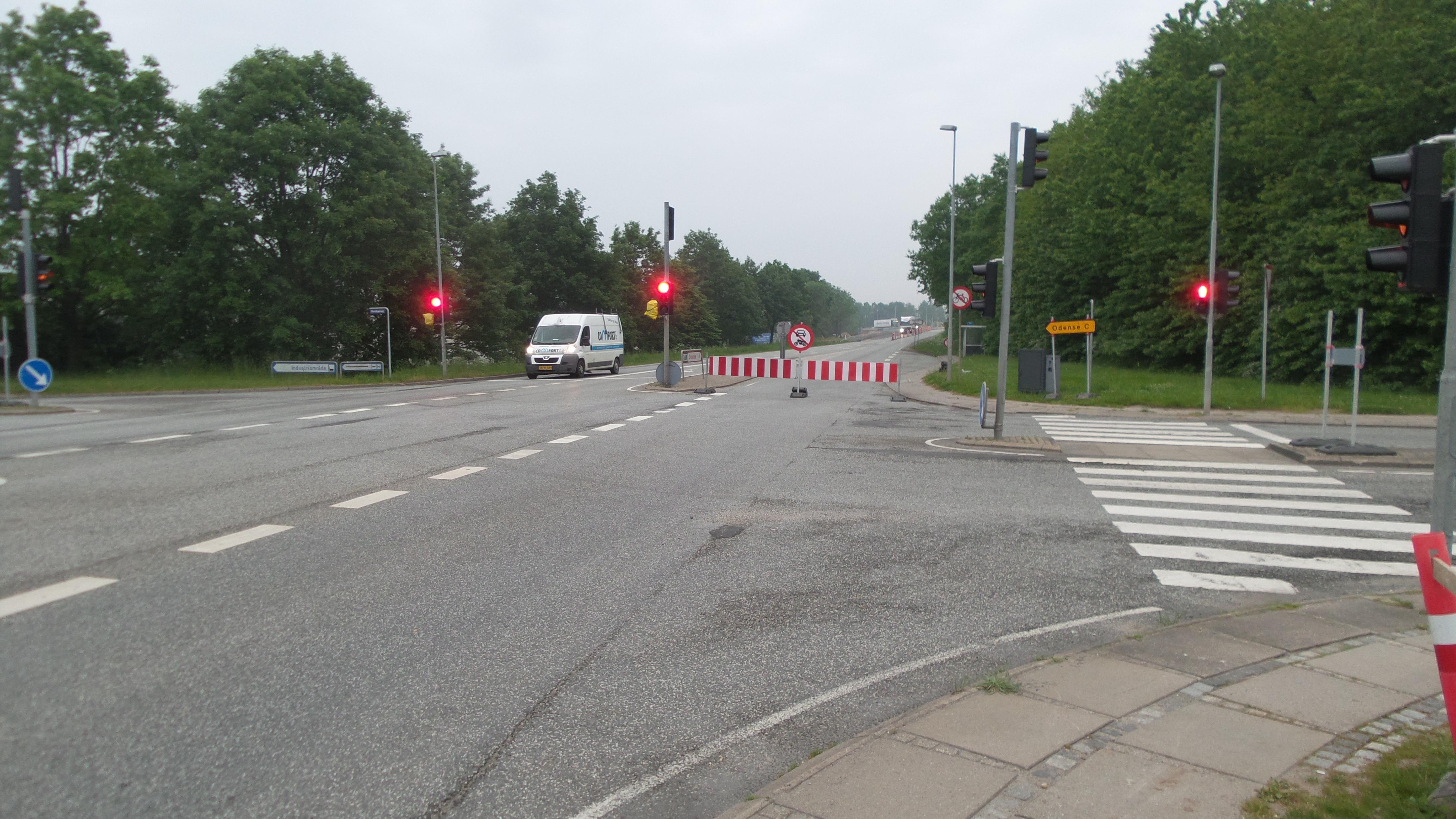 Omlægning af motorvejskryds skaber trafikkø