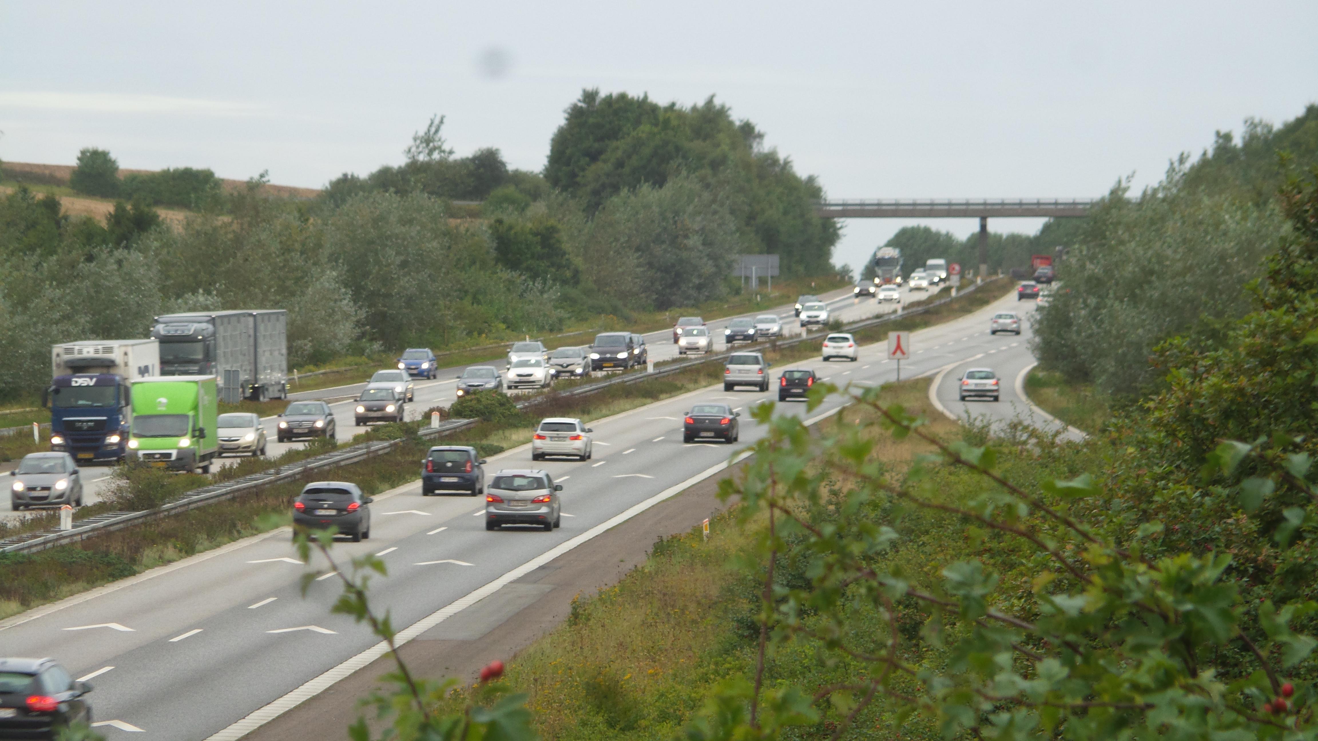 Fynske Motorvej ved Vissenbjerg