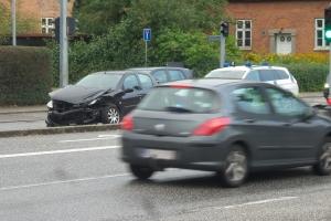 Trafikuheld på Søndre Boulevard i Odense