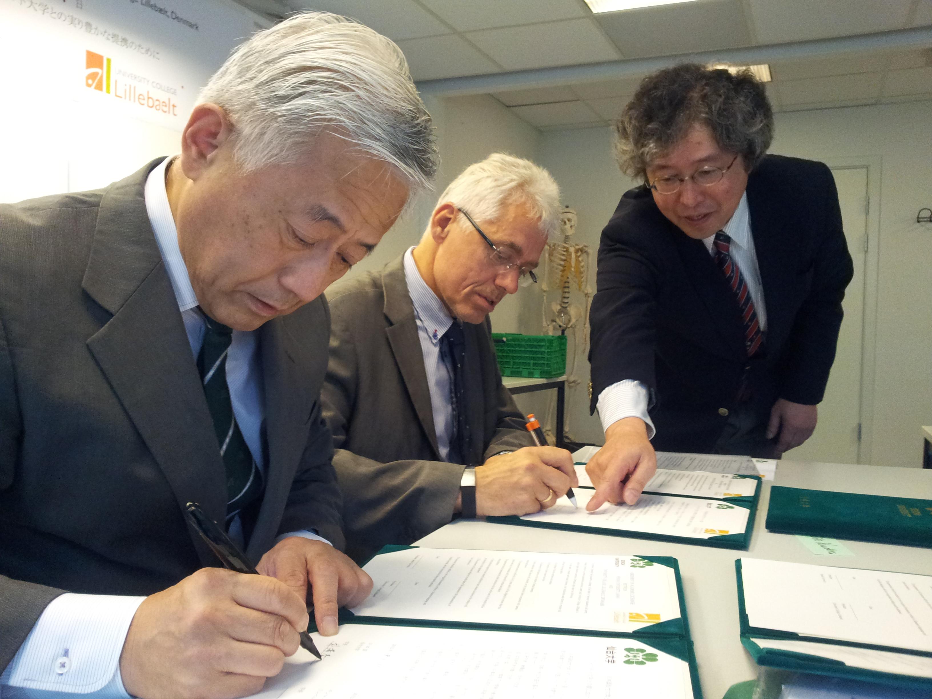 UCL får uddannelsesaftale med japansk universitet(3)