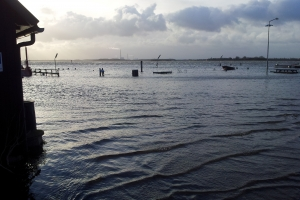 Oversvømmelser ved Odense Fjord efter Bodil_