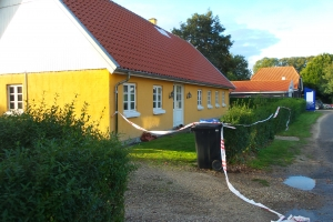 Brand i hus Mullerupvej i Ullerslev