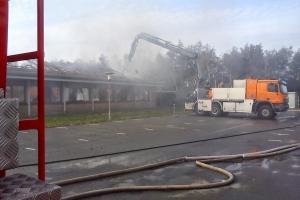 Brand på Søndersø Rådhus(2)