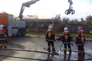 Brand på Søndersø Rådhus(3)