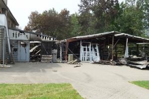 Påsat brand i Odene Roklub(1)