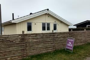14. april 2018: Sommerhus til salg på Langø. Fofo: Ole Holbech