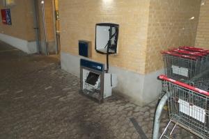 Pengeautomat i Tommerup sprængt i luften