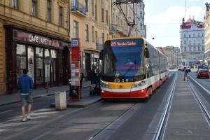 Sporvogn i Prag