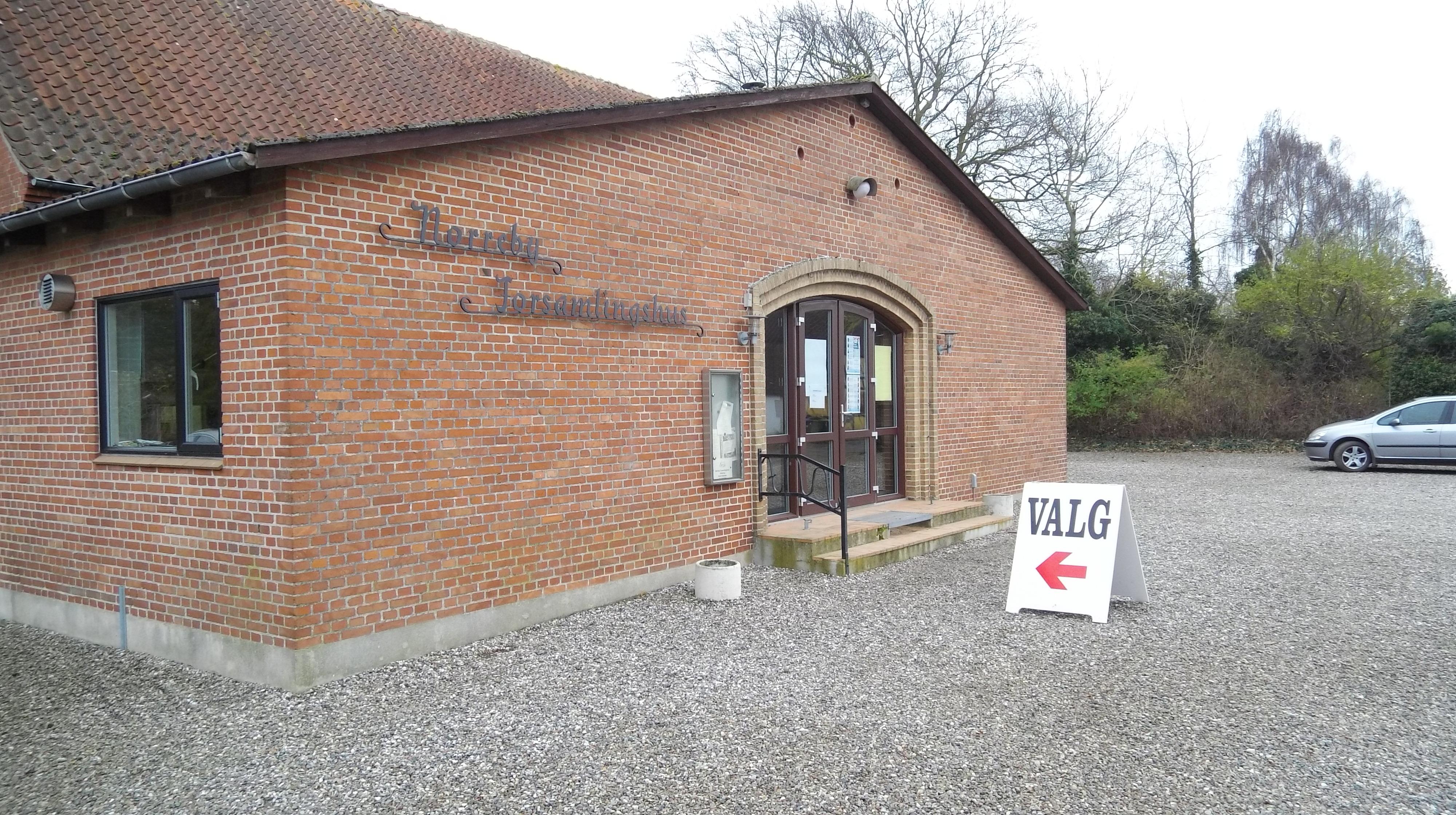 Valg i Nørreby Forsamlingshus