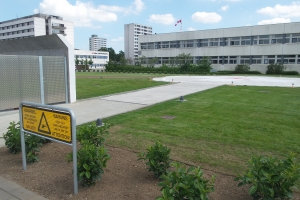 Odense Universitetshospital har indviet en ny heliport - en landingsplads for lægehelikoptere.