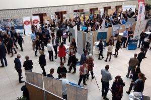 Op mod 500 elever fra handelsuddannelserne på Tietgen Business var tirsdag formiddag til virksomhedsdating på Odense Rådhus.